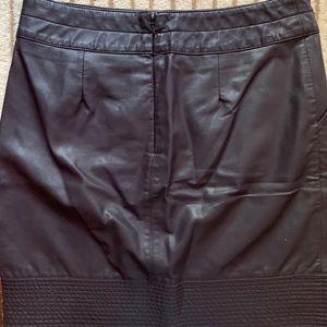 Anthropologie Skirts - Anthropologie Vanessa Virginia Faux Leather Skirt